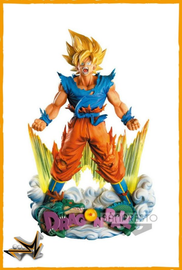 Goku Super Saiyan Diorama Dragon Ball Z Master Star - Banpresto