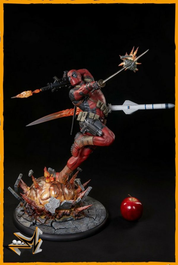 Deadpool Heat seeker Premium Format Marvel - Sideshow