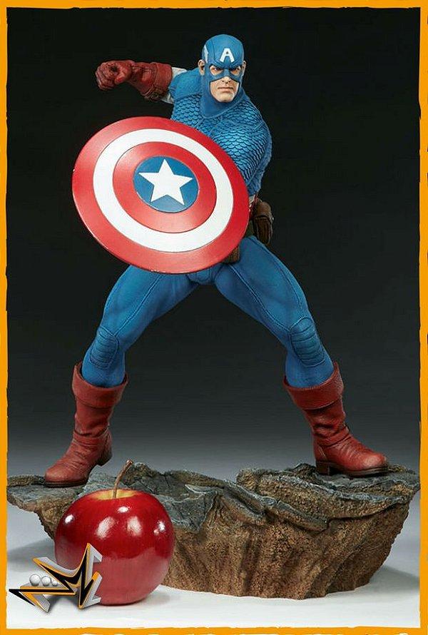 Capitão América Comics 1/5 Avengers Assemble Marvel - Sideshow