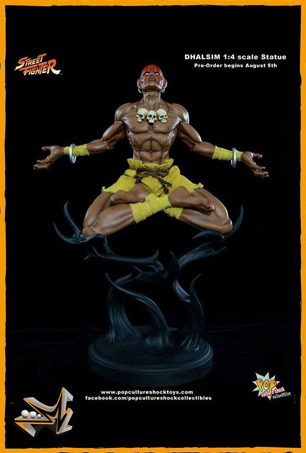 Dhalsim 1/4 Street Fighter - Pop Culture Shock