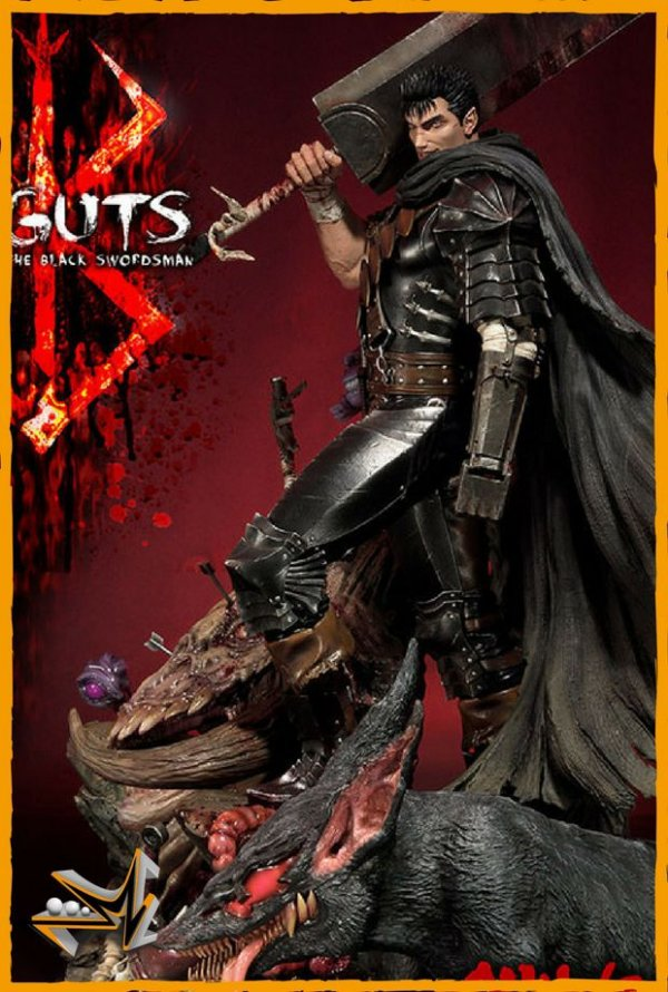 Guts The Black Swordsman Berserk - Prime 1 (reserva de 10% do valor)