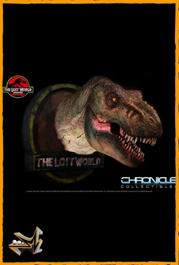 Busto T-Rex 1/5 Jurassic Park - Chronicle Collectibles
