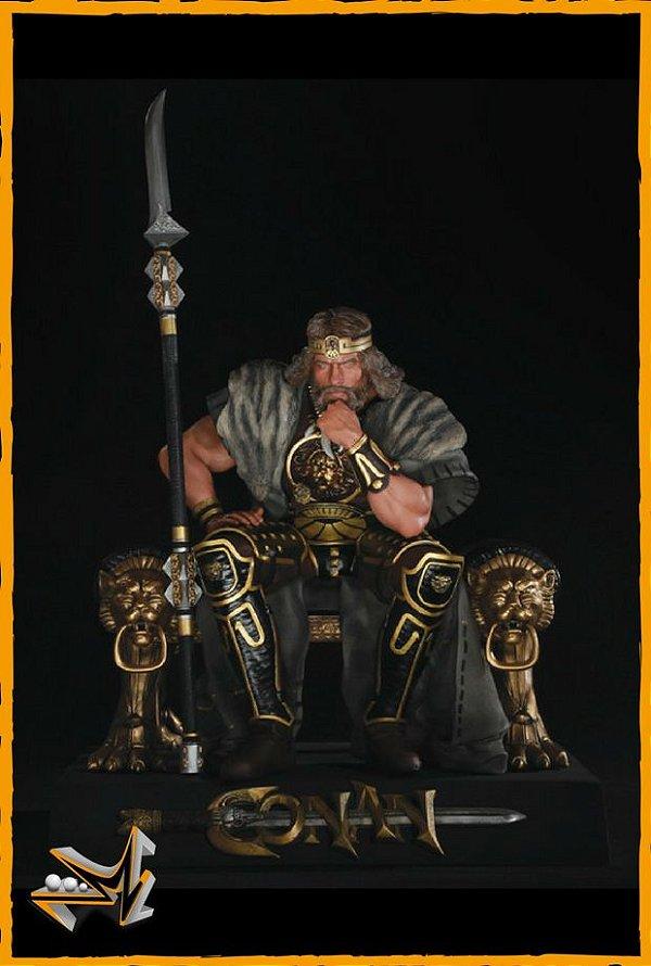 Conan O Bárbaro 1/4 Arnold Schwarzenegger - Chronicle Collectibles