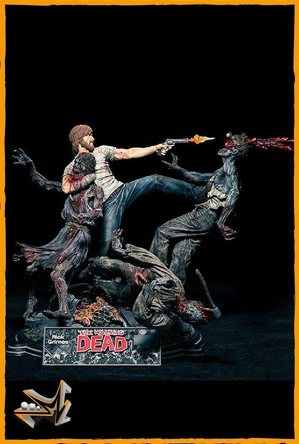 Rick Grimes Diorama 1/6 The Walking Dead - McFarlane
