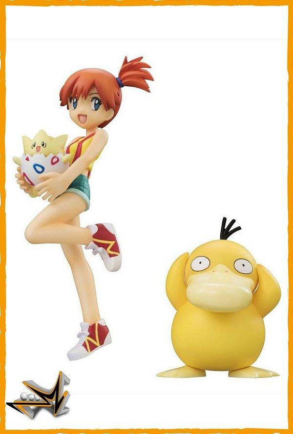 Misty Psyduck e Togepi Pokémon - Megahouse