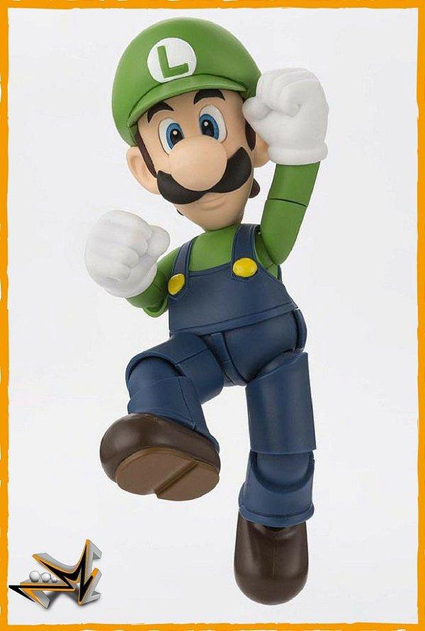 Luigi Super Mario Nintendo S.H Figuarts - Bandai