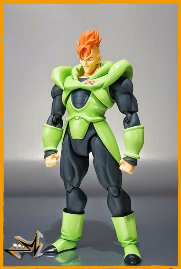 Android 16 Dragon Ball Z S.H Figuarts - Bandai
