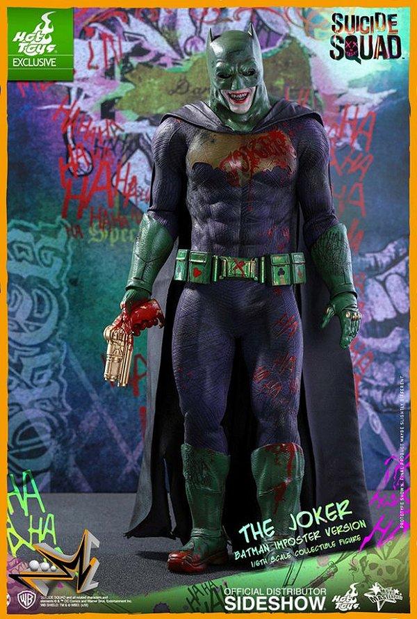Joker 1/6 Versão Batman Impostor Dc Comics - Hot Toys