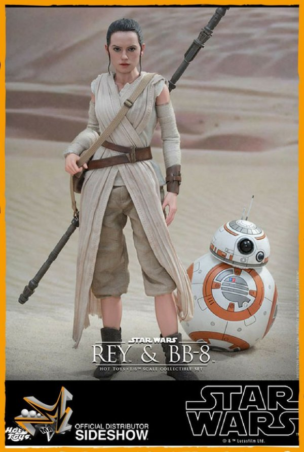 Rey e BB-8 1/6 Star Wars - Hot Toys