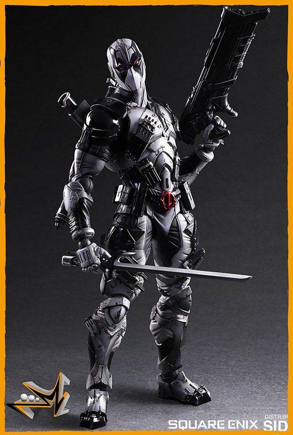 Deadpool Versão X-Force Marvel - play Arts Kai (reserva de 10% do valor)