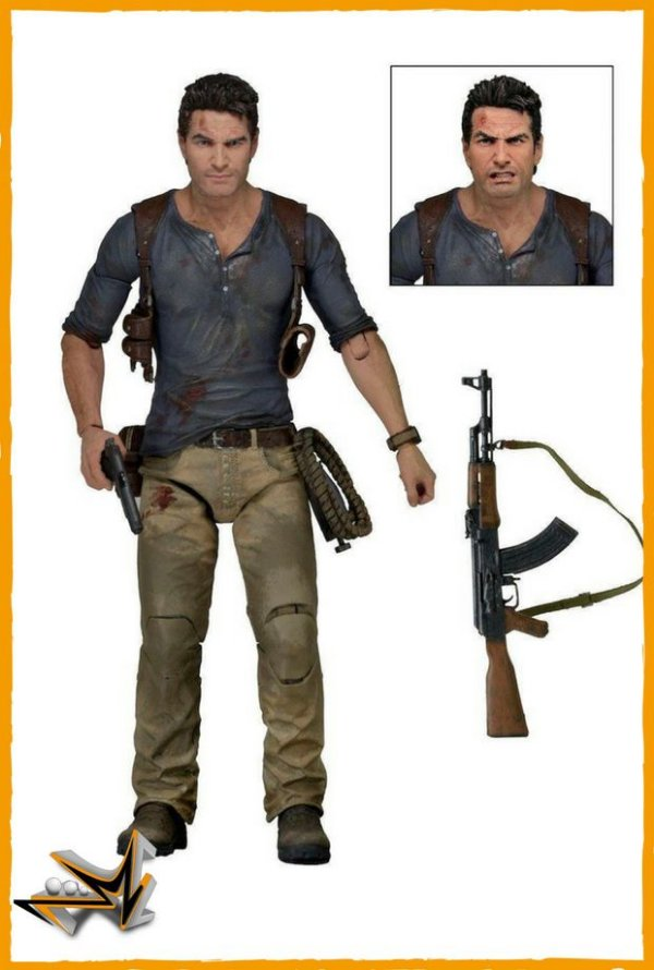 Nathan Drake Ultimate Uncharted 4 - Neca