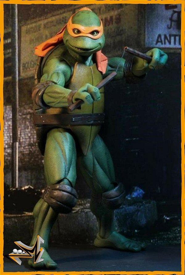 Michelangelo 1/4 As Tartarugas Mutantes Ninjas - Neca (reserva de 10% do valor)