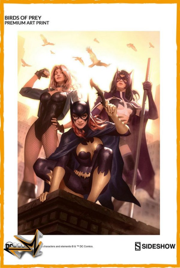 Birds Of Prey Art Print Dc Comics - Sideshow