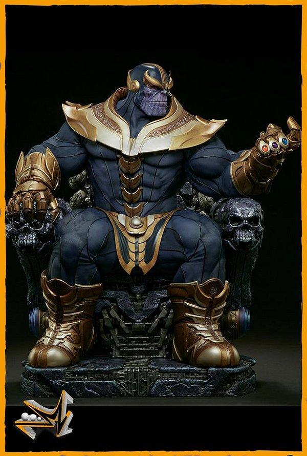 Thanos On Throne Maquette REG. Marvel - Sideshow