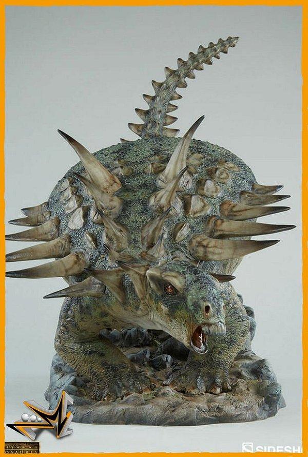 Gastonia Dinosauria Statue - Sideshow (reserva de 10% do valor)
