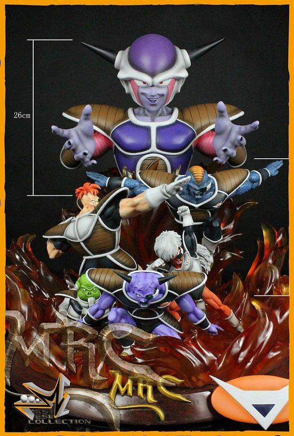 Freeza e Forças Ginyu Estátua Dragon Ball Z - MRC
