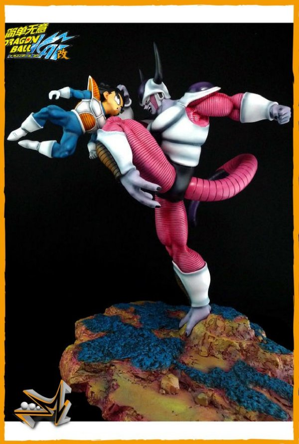 Freeza Vs Gohan Diorama Dragon Ball - VKH
