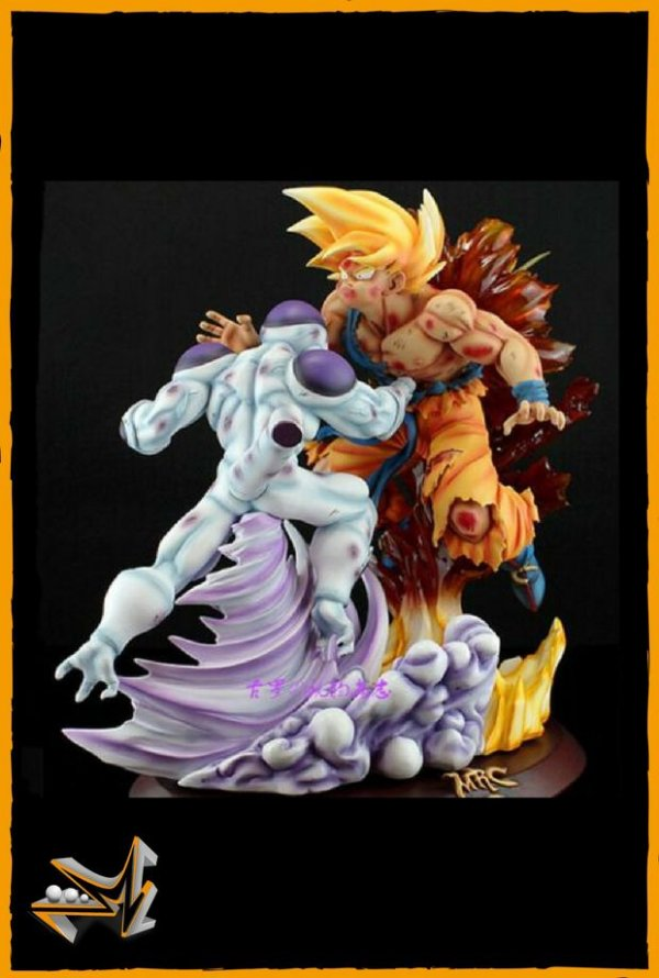 Goku Super Saiyan Vs Freeza Diorama Dragon Ball - VKH
