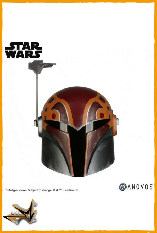 Sabine Wren Helmet Star Wars Réplica 1/1 - Anovos (reserva de 10% do valor)