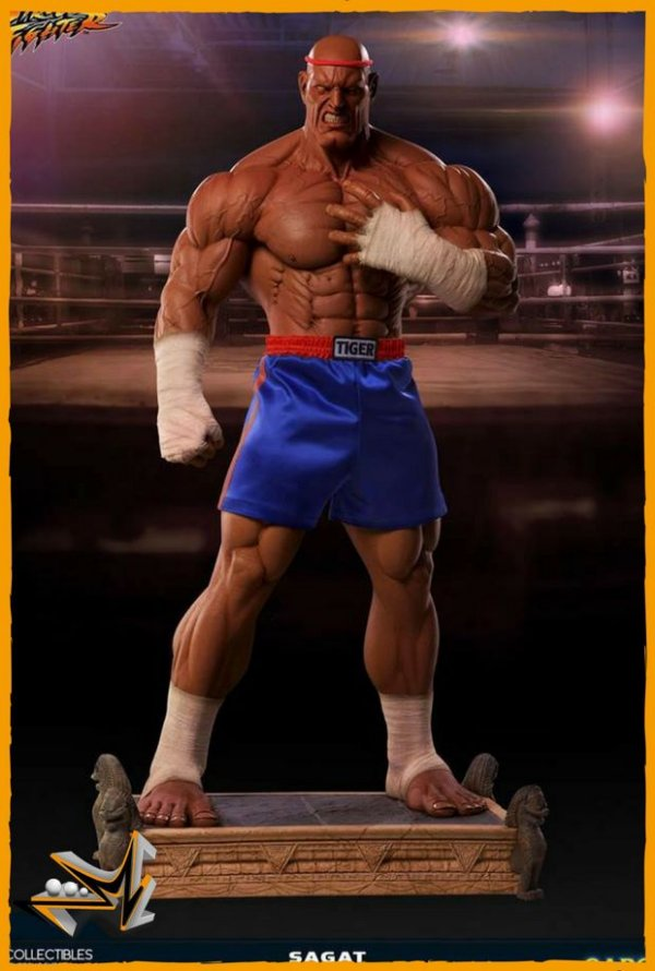 Sagat 1/3 Variant Victory Street Fighter - Pop Culture Shock (reserva de 10% do valor)