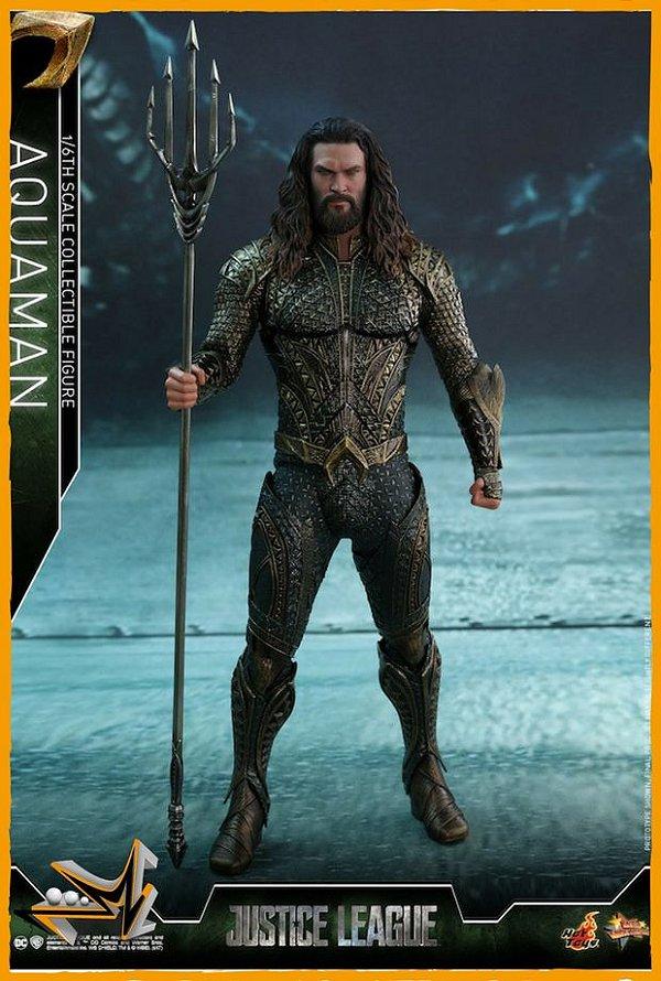 Aquaman 1/6 Liga da Justiça Dc Comics - Hot Toys (reserva de 10% do valor)