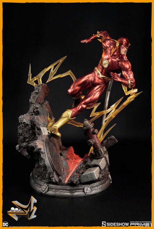 Flash New 52 Liga da Justiça Dc Comics - Sideshow (reserva de 10% do valor)