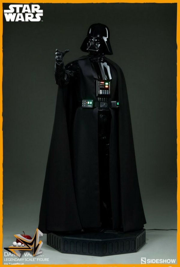 Darth Vader 1/2 Escala Legendary Star Wars - Sideshow (reserva de 10% do valor)
