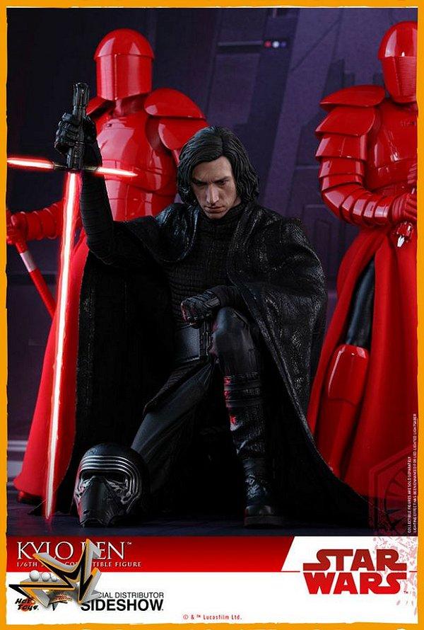 Kylo Ren 1/6 O Último Jedi Star Wars - Hot Toys (reserva de 10% do valor)