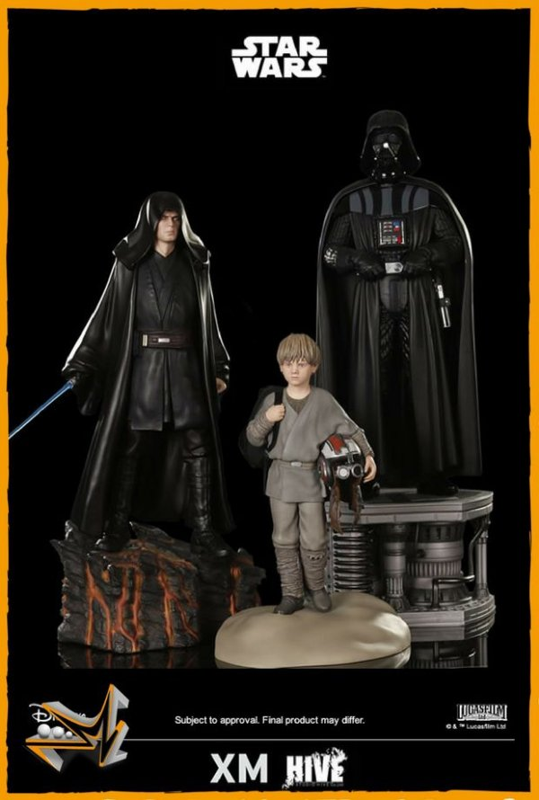 Darth Vader Set 1/4 Star Wars - Xm Studios (reserva de 10% do valor)
