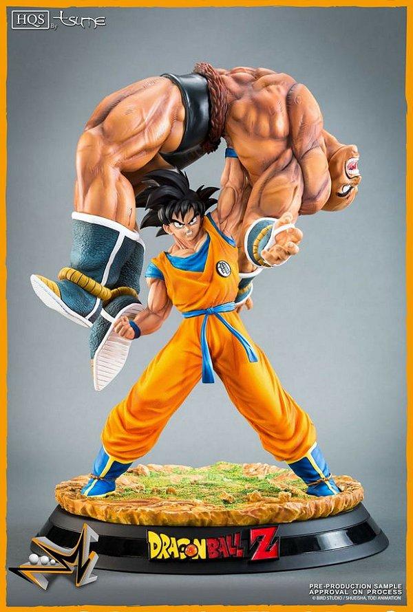 Goku VS Nappa Quiet Wrath of Son Goku Dragon Ball - Tsume Art