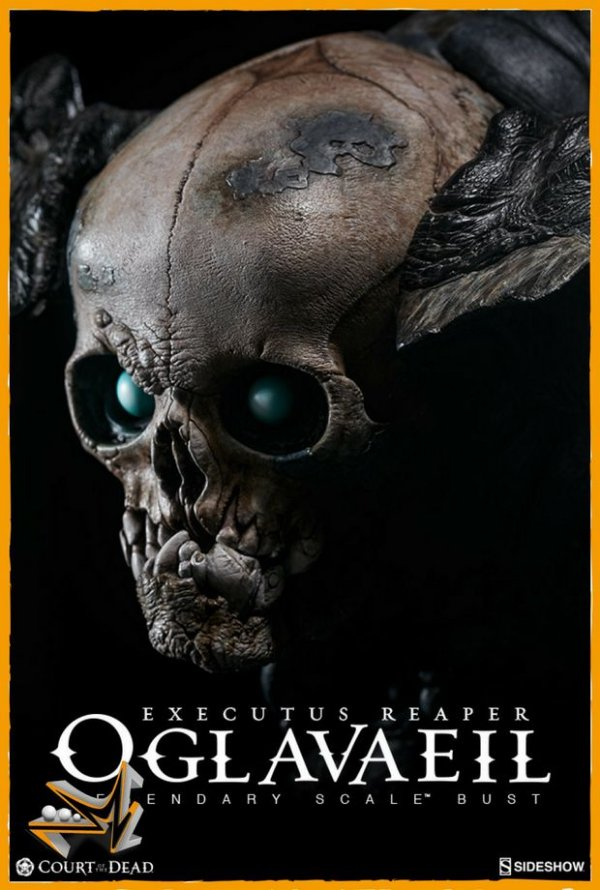 Oglavaeil Busto escala Legendary Court Of The Dead - Sideshow