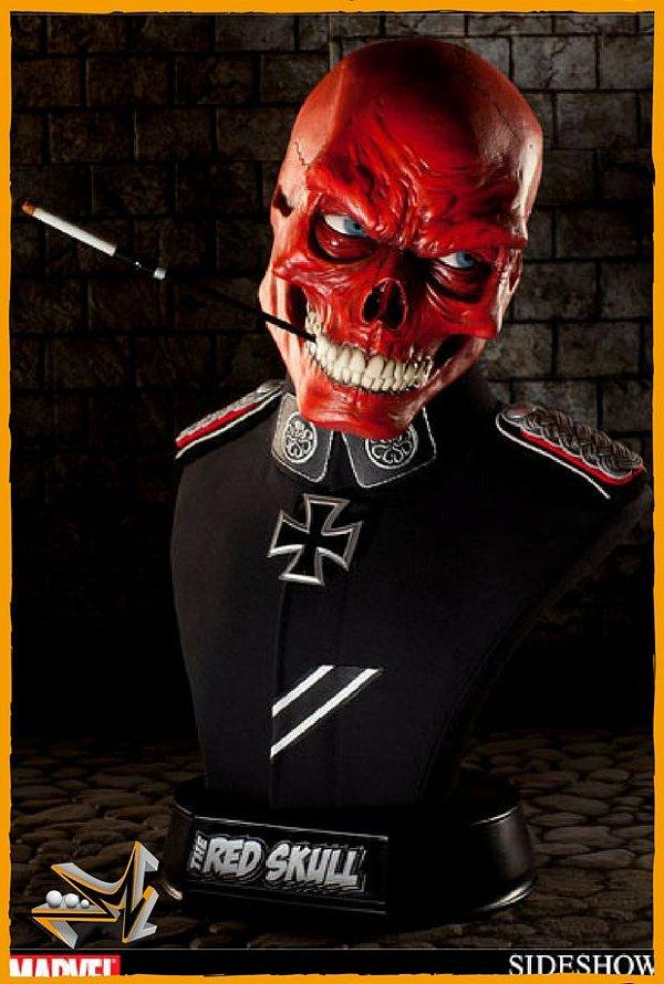 Red Skull Busto Life-size 1/1 Marvel - Sideshow