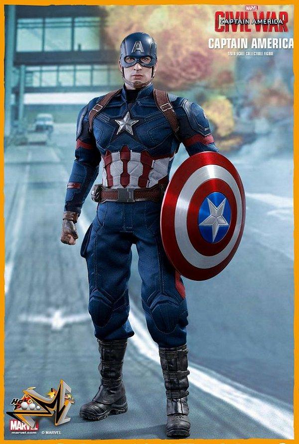 Capitão América 1/6 Guerra civil - Hot Toys