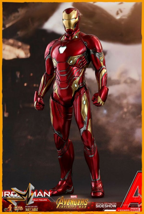 Iron Man Vingadores Guerra Infinita Marvel - Hot Toys (reserva de 10% do valor)