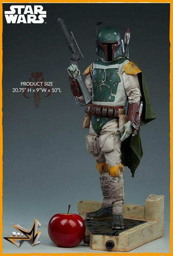 Boba Fett Premium Format 1/4 Star Wars - Sideshow Collectibles (reserva de 10% do valor)