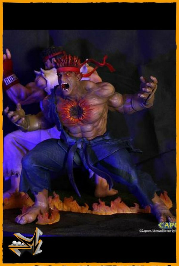 Evil Ryu Street Fighter Kinetiquettes - Tsume Art