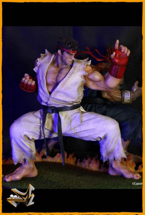 Ryu Street Fighter Kinetiquettes - Tsume Art