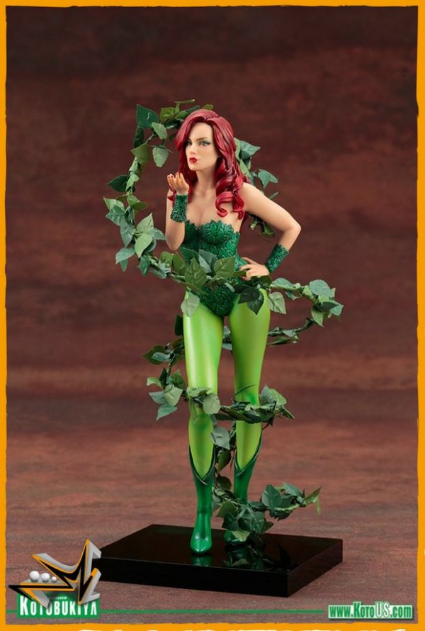 Poison Ivy 1/10 Statue ArtFx Dc Comics - Kotobukiya