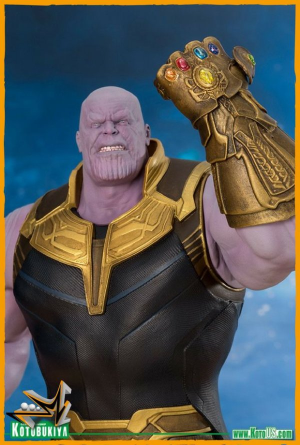 Thanos Vingadores Guerra Infinita 1/10 Marvel ArtFX - Kotobukiya (PRÉ-VENDA)