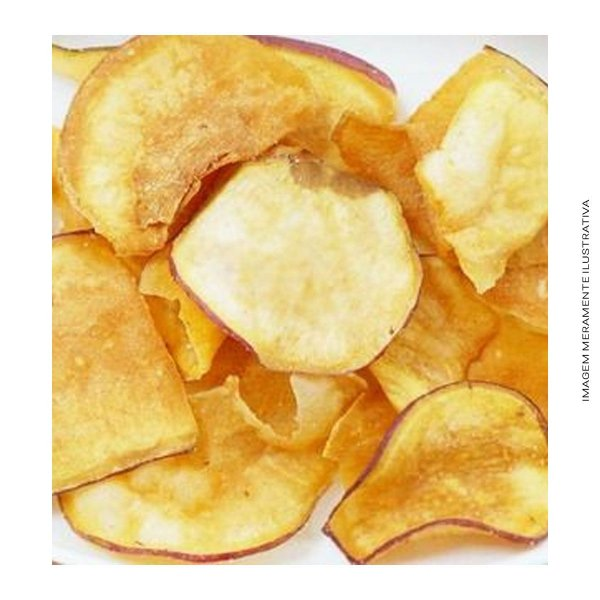 Batata Doce Chips Cebola e Salsa