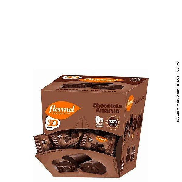 Bombom Recheado Chocolate Amargo - Flormel