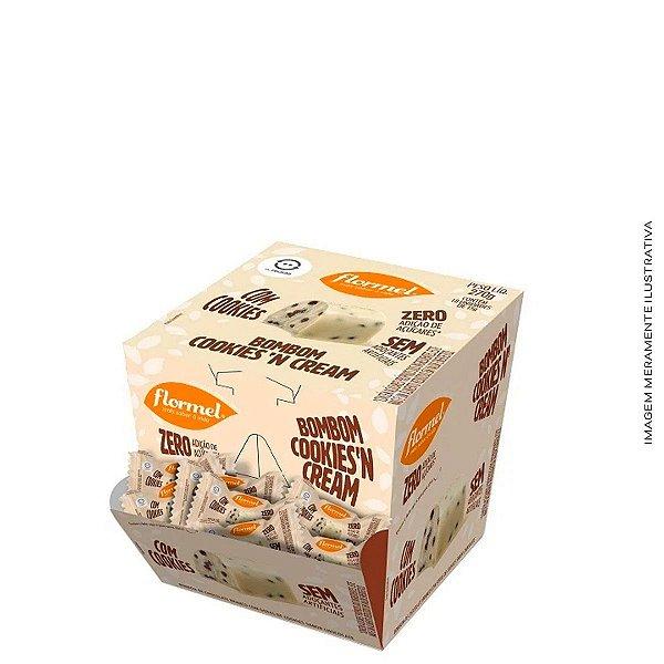 Bombom Recheado Cookies'N Cream - Flormel