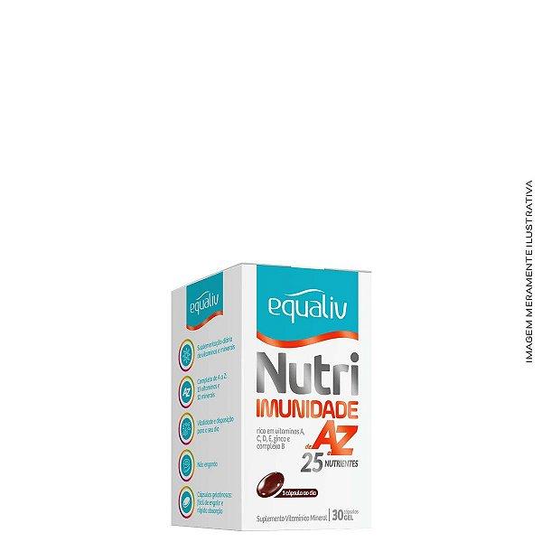 Polivitamínico Nutri Imunidade A a Z 30 Caps - Equaliv