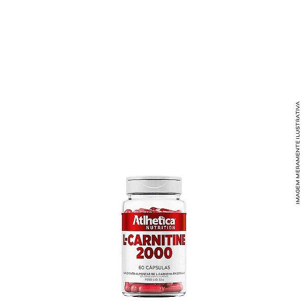 L-Carnitine 2000 60  Cáps - Atlhetica Nutrition