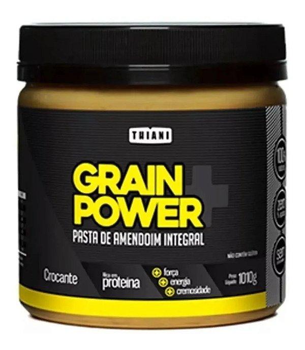 Pasta de Amendoim 1kg Crocante - Grain Power