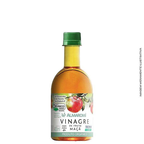 Vinagre de Fruta Maça 400ml 4 % - Almaromi