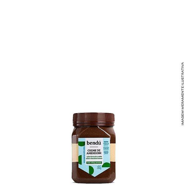 Creme de Amendoim Whey Brownie com Chocolate Branco 350g - Bendú