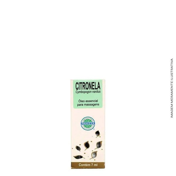 Óleo Essencial Citronela 7ml - Panizza