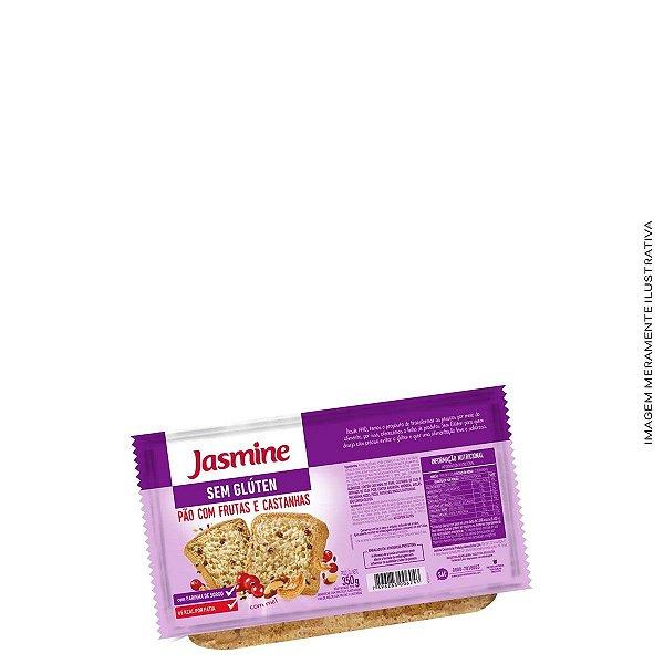 Pão Sem Glúten com Frutas e Castanhas 350g  - Jasmine