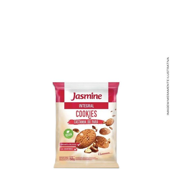 Cookies Integral Castanha-do-Pará 150g  - Jasmine